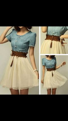 Such a lovely dress c: