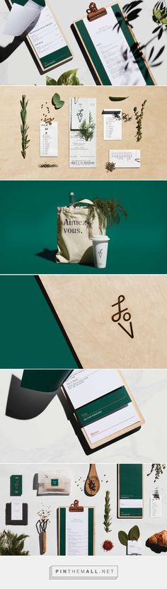 LOV Restaurant Identity - Mindsparkle Mag... - a grouped images picture - Pin Them All