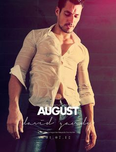 David Gandy Covers August Mans July 2012 Issue