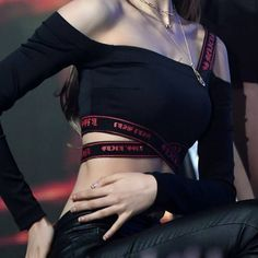 Find images and videos about fashion, kpop and icon on We Heart It - the app to get lost in what you love. Kpop Girl Groups, Kpop Girls, Punk Girls, Gothic Girls, Stage Outfits, Fashion Outfits, Gothic Fashion, Seulgi, Korean Girl