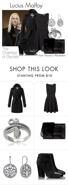 """""""The Chamber of Secrets: Lucius Malfoy"""" by evalupin ❤ liked on Polyvore featuring Burberry, Vero Moda, Tressa, Valentino, 1928, Tory Burch, harrypotter, Malfoy, TheChamberOfSecrets and lucius"""
