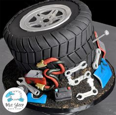 Car Engine Birthday Cake Birthday Cake Ideas Pinterest Car - Car engine birthday cake