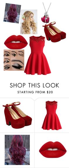 """""""Quotev Prom 2016"""" by hpfan4lyfe ❤ liked on Polyvore featuring Pilot, Chicwish and Lime Crime"""