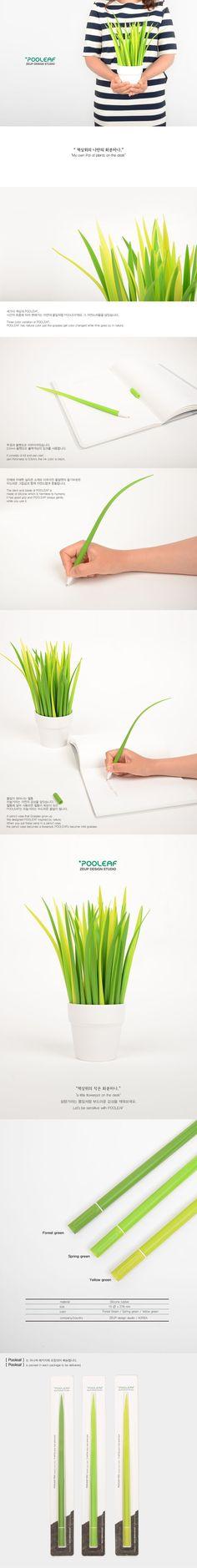 Una penna ispirata alla natura