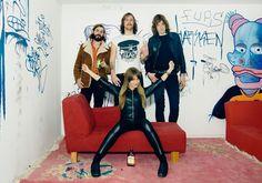 Endlich! Spiders: Schwedens Seventies-RockerInnen mit ihrem ersten Longplayer