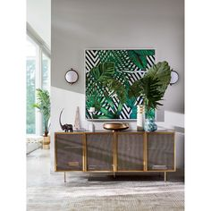 Trace Brass Wire Mesh Cabinet Credenza + Reviews | CB2 Vintage Wall Sconces, Vintage Walls, Ikea, Diy Regal, Boho Vintage, Living Room Cabinets, Home Decor Mirrors, Wire Mesh, Home Rugs