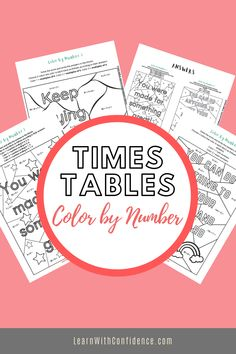 Create a stunning and inspiring mini-poster while your practice your times tables as well as other skills such as odd and even numbers, and factors and multiples. Factors And Multiples, Times Tables, Confidence, Numbers, Learning, Create, Mini, Poster, Inspiration