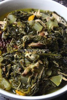 Soul Food Turnip Greens with Smoked Turkey Seitan, Tzatziki, Vegetable Dishes, Vegetable Recipes, How To Cook Turnips, Warm Potato Salads, I Heart Recipes, Salt Pork, Crudite