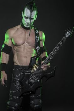 Doyle Wolfgang von Frankenstein of Misfits, Kryst the Conqueror, Gorgeous Frankenstein and Doyle Doyle Misfits, Danzig Misfits, New Wave Music, Music Love, Rock Music, Glenn Danzig, Frankenstein, Beatles, Misfits Band