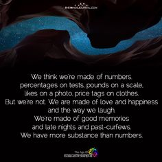 We Think We're Made Of Numbers - https://themindsjournal.com/think-made-numbers/
