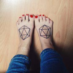 Icosahedrons by Sacha