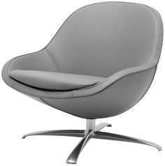 Veneto chair with swivel function, the product is available in fabrics and leathers
