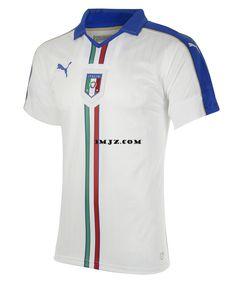 Nouveau Maillot Euro 2016 Italie Exterieur pas cher