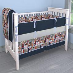 Coastal Custom Set Nursery Idea | Customizable Crib Bedding Set | Carousel Designs