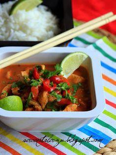 czerwone curry po tajsku