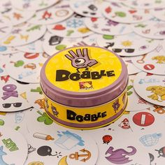 The game requires speed, attention and good reflexes!!! #dobble #asmodee #boardgames #cardgames #boardgame #brætspil #brädspel #brettspill #åretsmandelgave