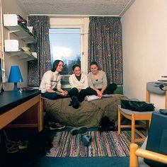 Promotional shot of Aston University student accommodation (undated). Aston University, 50th Anniversary, Student, History, Celebrities, Decor, Celebs, Decoration, Decorating