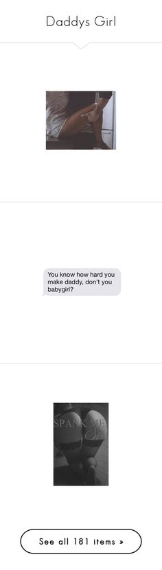 """""""Daddys Girl"""" by daddys-princesses ❤ liked on Polyvore featuring couples, pictures, backgrounds, images, love, text, quotes, fillers, daddy and text bubbles"""