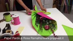 Packaging gift wrapping- Ramo simples