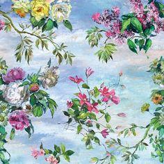 caprifoglio grande - sky fabric | Designers Guild