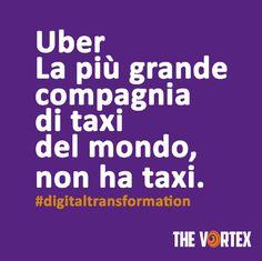#uber #digitaltrasformation.
