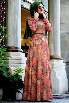 458ab105f121b Gamze Polat Yazlık Tesettür Elbise Modelleri Abaya Modası, Elbise  Modelleri, Kıyafet, Islami Moda