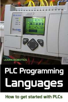 Learn PLC programming with the best online PLC and Ladder Logic courses you can take. Advance your career in Industrial Automation and gain familiarity with popular Industrial programming languages. Plc Programming, Programming Languages, Ladder Logic, Learn Robotics, Power Ran, Learn C, Feedback For Students, Best Online Courses, Programing Software