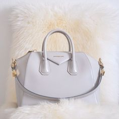 Givenchy bag ......white with gold hardware