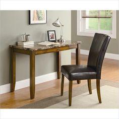 Coaster 2 Piece Desk Set in Walnut Finish - 800783 - Lowest price online on all Coaster 2 Piece Desk Set in Walnut Finish - 800783