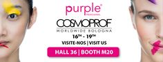 Visit us at Cosmoprof Worldwide Bologna 16th-19th Hall 36 | Booth M20