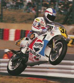Kevin Schawantz Suzuki 1988