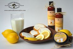 Frosted Lemon Cookie Body Butter Creme and Shower Smoothie from www.Naturallyinnovative.com