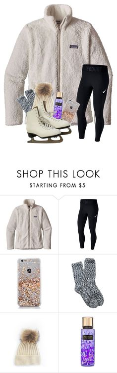 """Rtd"" by magsvolleyball2 ❤ liked on Polyvore featuring Patagonia, NIKE, Free Press, Victoria's Secret and gabschristmascontest17"