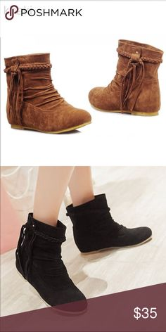Khaki Boots brand new!.. (second pic for model) Shoes Ankle Boots & Booties