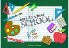 Free vector Back to School Icons #13265