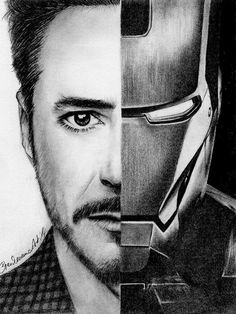iron man draw