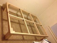$30 DIY bed frame #diybedframe