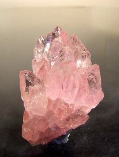 Heaven Can Wait - Healing Properties of Rose Quartz  ❦ CHRYSTALS ❦ semi precious stones ❦