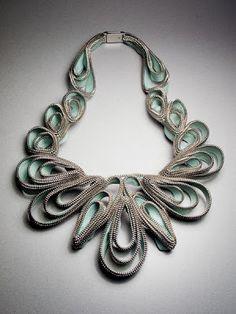 Gil: ZIPER, sua função e história , aproveite as idéias nos acessórios, jóias e artesanato