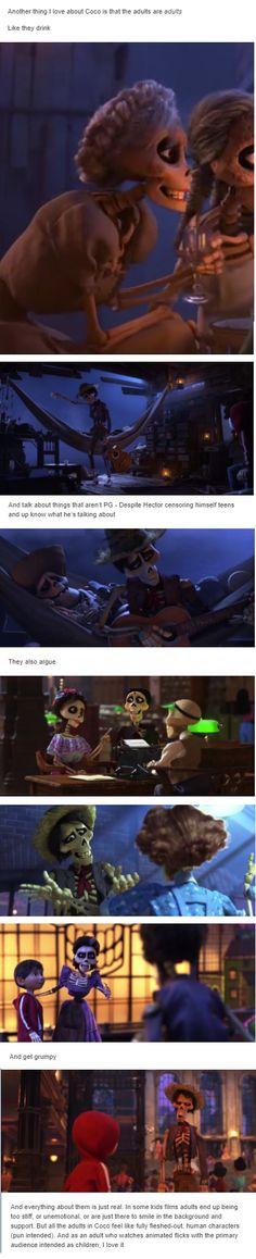 Disney pixar - This is true and this is one of the reasons I love coco ❤ Disney Pixar, Disney Facts, Disney Marvel, Disney Memes, Disney And Dreamworks, Disney Animation, Disney Cartoons, Disney Love, Disney Magic