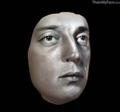 Buster Keaton 3D Face | ThatsMyFace