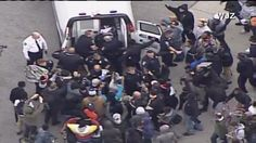 [Riots] Baltimore Protesters Turn Violent - Police Give Orders to Gas The Crowd (Live Feed Streaming Video) | Protests & Demonstrations