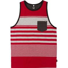 Lost Bust Out Knit Men's Tank Shirts