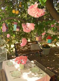 Brunch Tea Party Tea party ideas for little girls birthday parties.