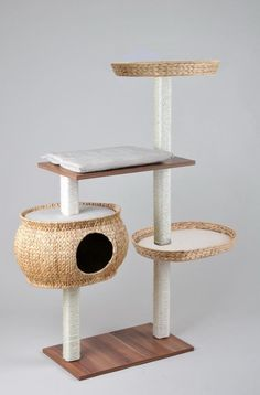 Cat dog on pinterest cat trees cat towers and cat houses - Arbre a chat original ...