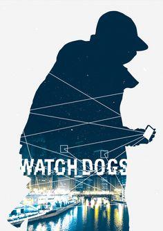 WATCH DOGSjpg by ~LeeShackleton on deviantART