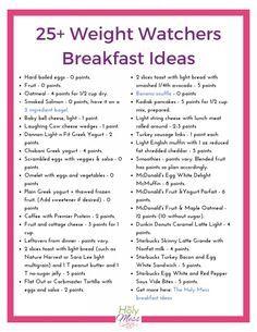 50+ Weight Watchers Breakfast Recipes and Ideas #weightwatchers #healthyfood