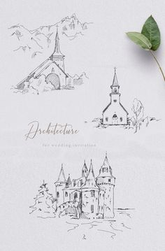 Architecture for wedding invitation Church Clipart Hand drawing Stationary Cards Fine Line Hand drawing architecture for wedding invitation Stationary Wedding Paper, Wedding Cards, Wedding Stationary, Wedding Invitations, Wedding Drawing, Create Invitations, Personalized Stationery, Web Design, Kirchen