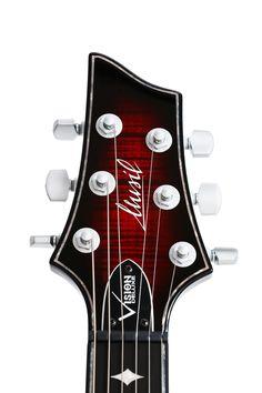 Musil Logo on Vision Deluxe Black Cherry Burst Shops, Cherry, Music Instruments, Guitar, Logo, Black, Guitars, Tents, Logos
