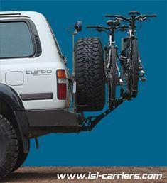 Truck Bike Rack, Best Bike Rack, Hitch Bike Rack, Bicycle Rack, Bike Carrier Rack, Ev Truck, Carros Toyota, Jeep Xj Mods, Build A Bike